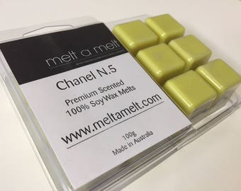 Chanel Scented  Long lasting Soy Melts x 6 pack