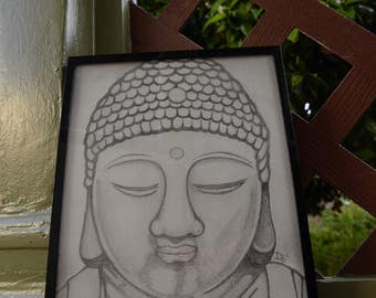 Drawing of Buddha