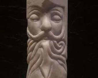 A mustachioed man