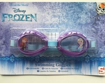 Disney Frozen Elsa Anna Swimming Goggles NEW