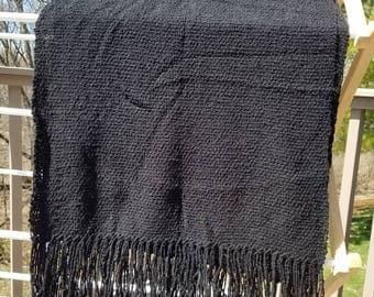 Black Cotton Wrap