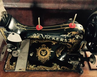 Vintage Vickers Sewing Machine Prop