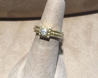 Classic Antique Style Diamond Ring