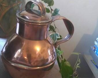 Vintage Copper Craft Gurensey Milk Jug