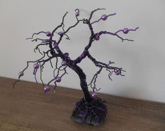 aluminum wire and beads decoration