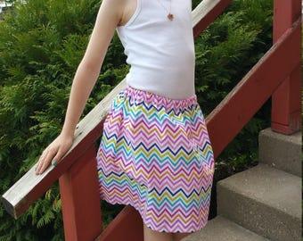 Classic elastic skirt