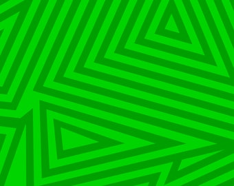 Green Triangles Backdrop