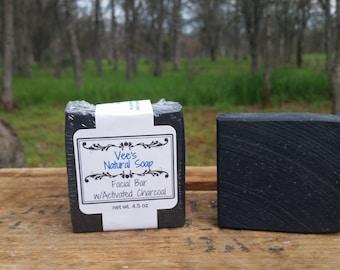 Activated Charcoal Tea Tree Facial Bar 4.5 oz