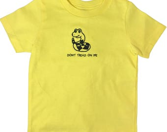 Don't Tread On Me Conservative Infant/Toddler Shirt