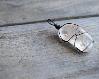 Smoky quartz pendant