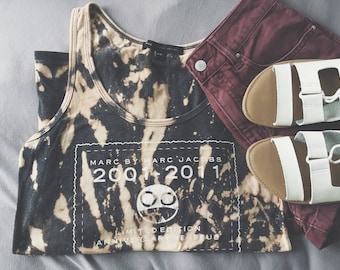 Rare Limited Edition Marc Jacobs Acid Wash Tie Dye Tank Top
