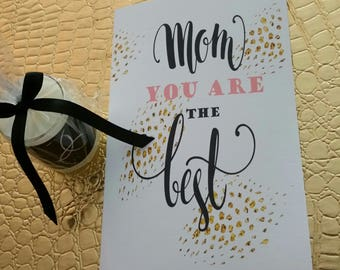 Single Mom, Mother's Day Card