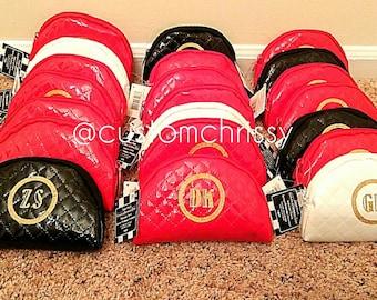 Monnogrammed Cosmetic Bags