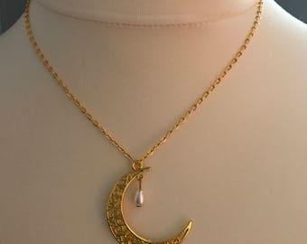 Moon necklaces