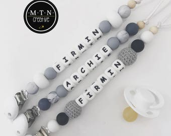 Silicone Dummy Chain - Personalised