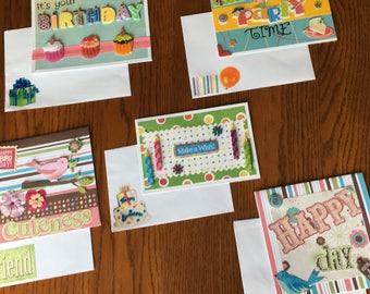 Handmade Birthday Cards by Celeste