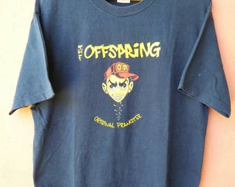Vintage The Offspring Original Prankster T Shirt Rare