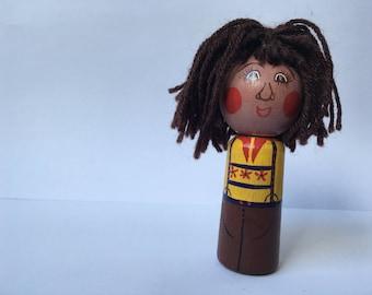 Albert of the ALB finger puppet
