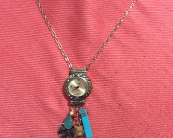 Down by the sea assemblage necklace