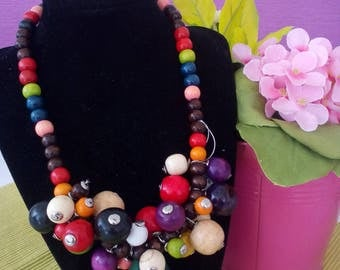 """Necklace """"Сolorful world"""""""
