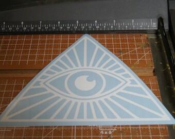 ILLUMINATI vinyl sticker