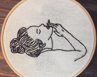Deep Breath Embroidery