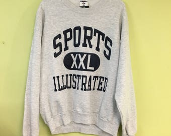 Vintage 90s Sports Illustrated Crewneck by Jerzees