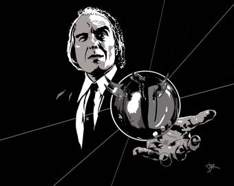 Tall Man from Phantasm (Signed Print)