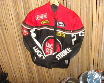 Original lucky strike motorcycle jacket in excellent condition