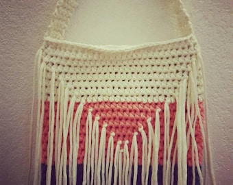 SAMPLE* crochet purse