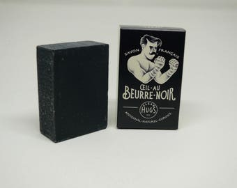 "SOAP handmade ""black Œil"" (activated charcoal)"