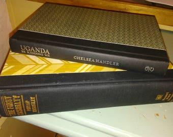 Designer hardcover novels
