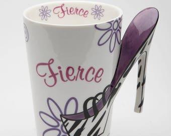 High Heel Mug - Fierce