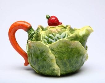 Veggie Teapot - Cabbage (20806)