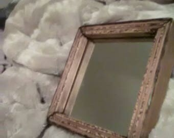 hand burnished frame