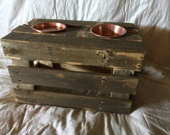 Crate Dog Bowl Stand