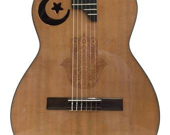 TOLEDO classical guitar series 3 cultures. MUSLIM