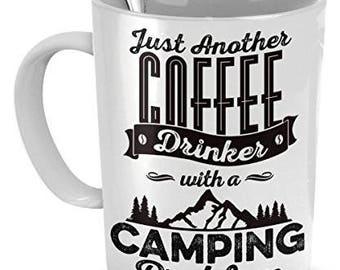 Camping Mug, Camping Gifts, Funny Camping Mugs, Camping Coffee Mug, camp coffee mugs, coffee mugs camping, gifts for camping, camp gifts