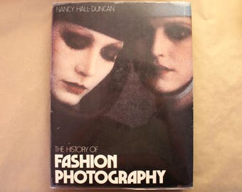 The History of Fashion Photography, 1979, Vintage Coffee Table Book