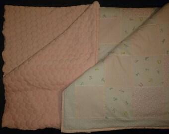 Handmade Patchwork Cot quilt/play mat