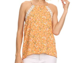 Peach Relaxed Fit Tank