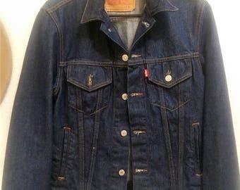 Mens Denim Jacket - Levi Strauss Small