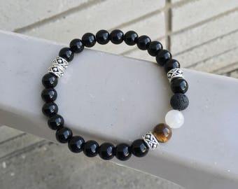 LuxeValor Eye of the Tiger bracelet