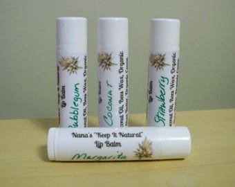 Natural Lip Balm Margarita