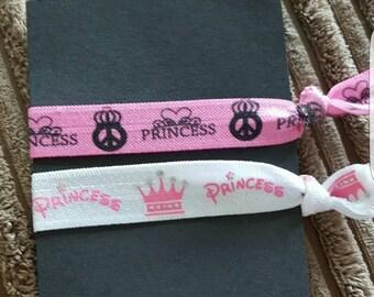 Princess hair bobbles/bracelet