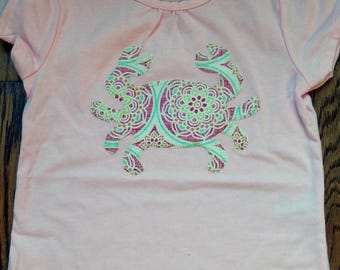 Handmade Crab Shirt
