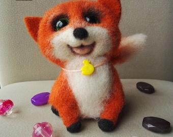 felted toy- Fox
