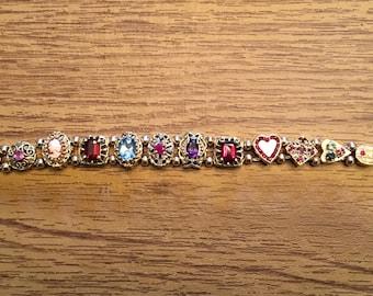 Vintage Gold slide bracelet