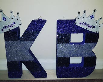 Kustom Canvas Glitz & Glam Letters