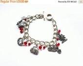Sale Santa Carla Charm Bracelet- inspired by The Lost Boys